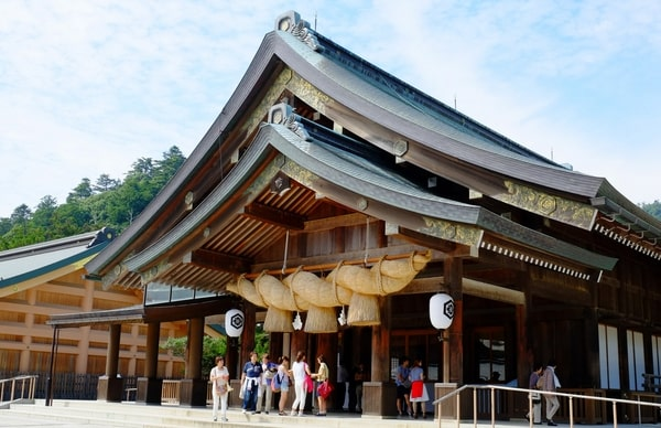 出雲大社の拝殿