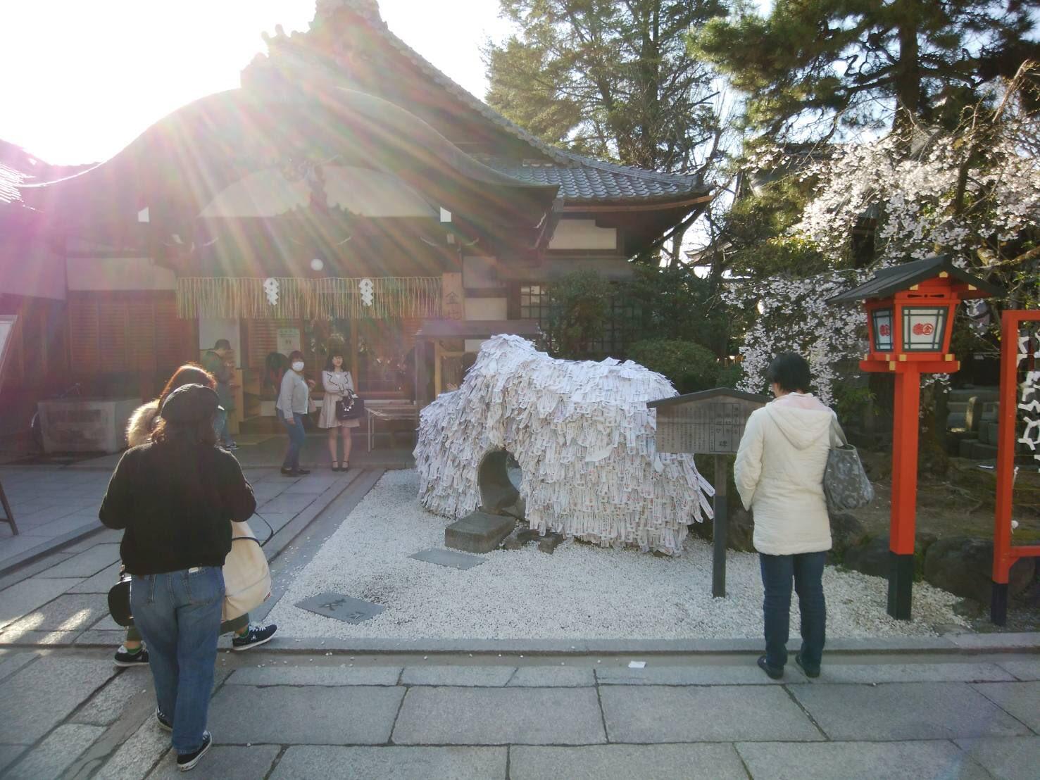 縁切り碑の写真